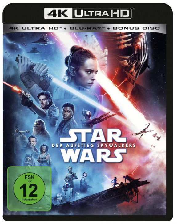 Star Wars: Der Aufstieg Skywalkers [4K UHD + Blu-ray]