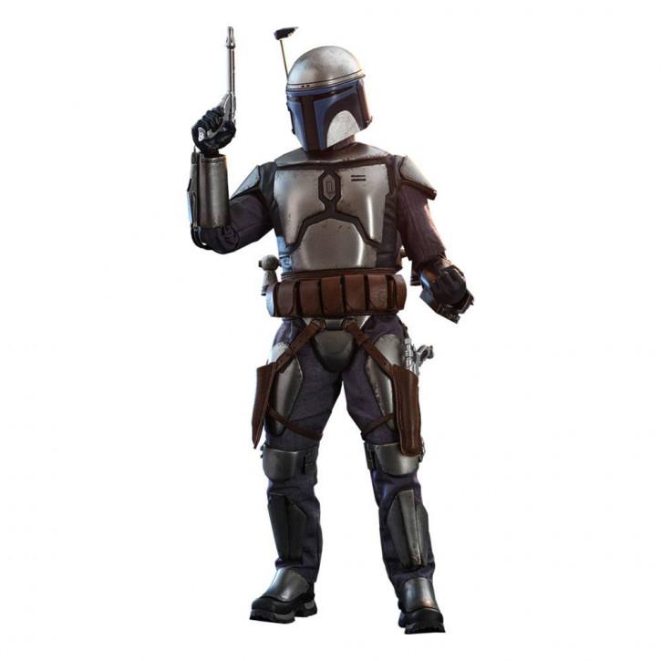 Star Wars Episode II Movie Masterpiece Actionfigur 1/6 - Jango Fett