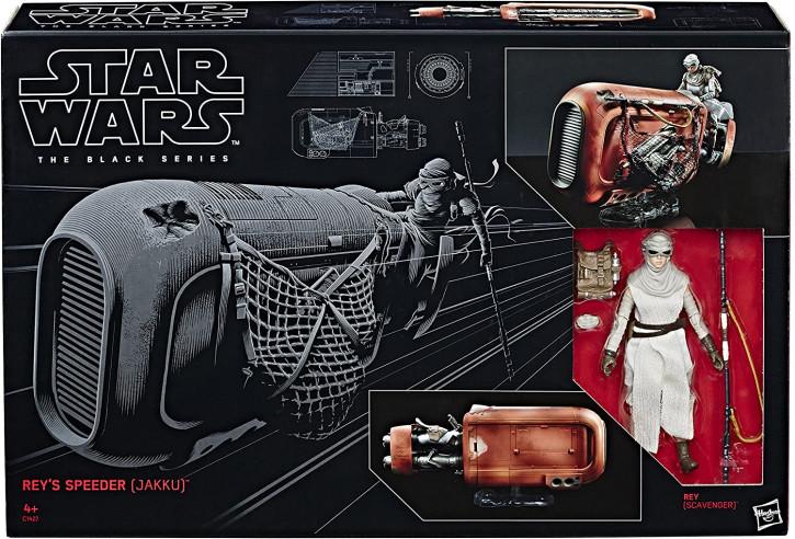Star Wars - The Black Series - Rey & Speeder