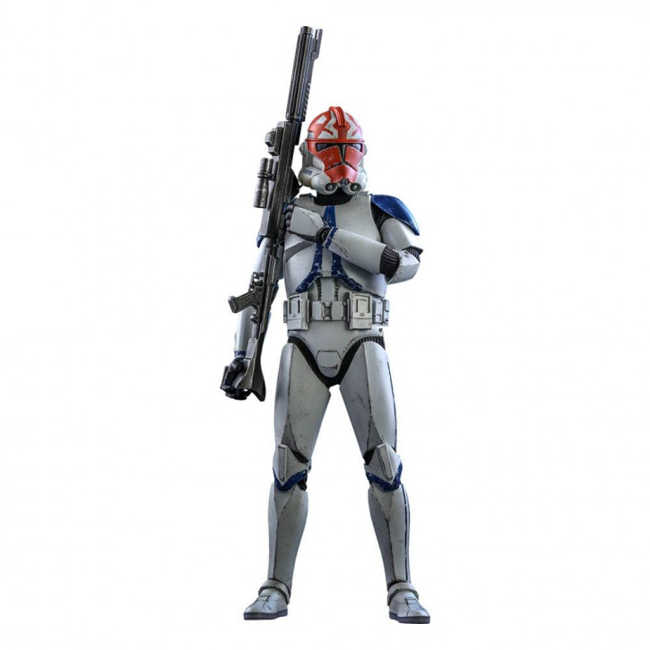 Star Wars The Clone Wars Actionfigur 1/6 - 501st Battalion Clone Trooper (Deluxe)