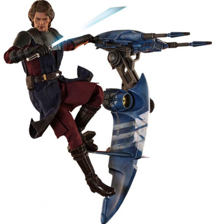 Star Wars The Clone Wars Actionfigur 1/6 - Anakin Skywalker & STAP 31