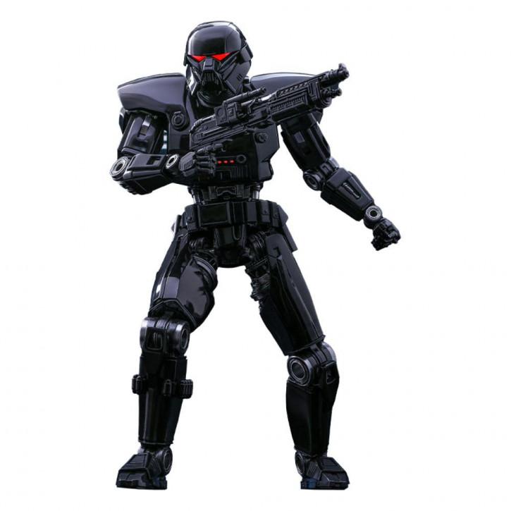 Star Wars The Mandalorian Actionfigur 1/6 - Dark Trooper
