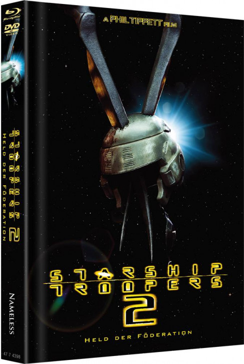 Starship Troopers 2 - Limited Mediabook Edition - Cover A [Blu-ray+DVD]