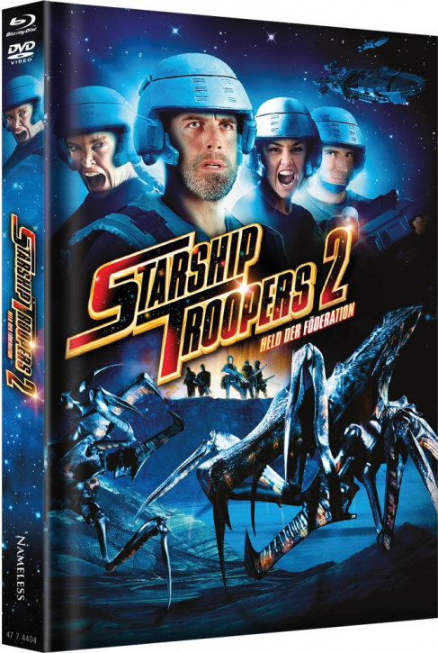 Starship Troopers 2 - Limited Mediabook Edition - Cover B [Blu-ray+DVD]