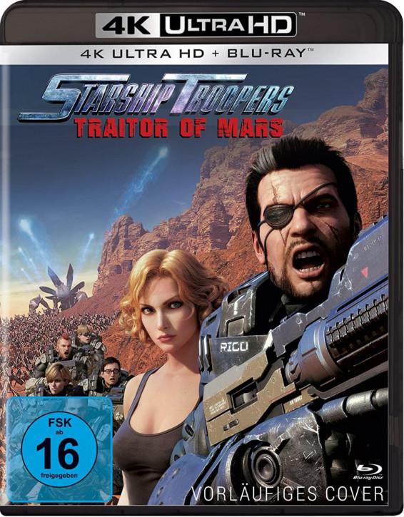 Starship Troopers: Traitor of Mars  [4K UHD+Blu-ray]