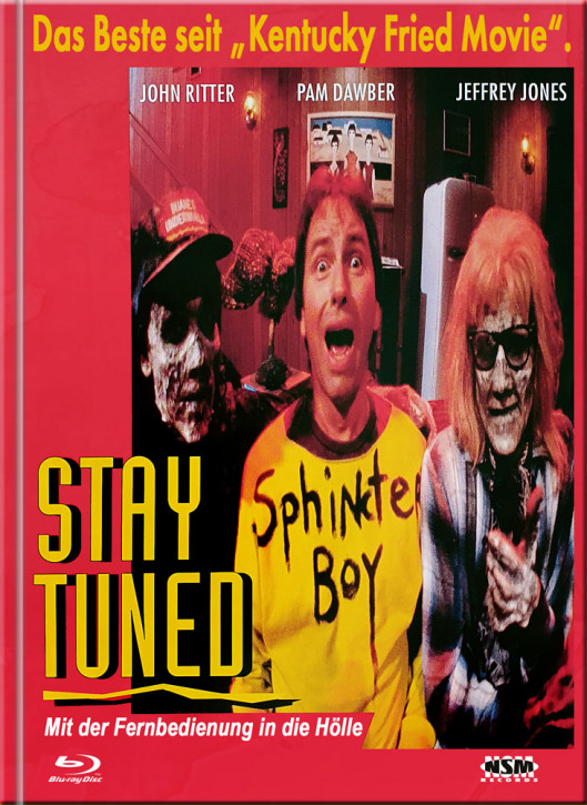 Stay Tuned - Limited Mediabook Edition - Cover A [Blu-ray+DVD]