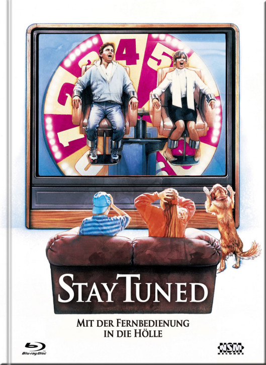 Stay Tuned - Limited Mediabook Edition - Cover B [Blu-ray+DVD]