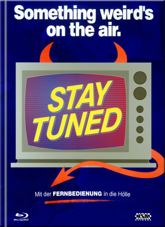 Stay Tuned - Limited Mediabook Edition - Cover C [Blu-ray+DVD]