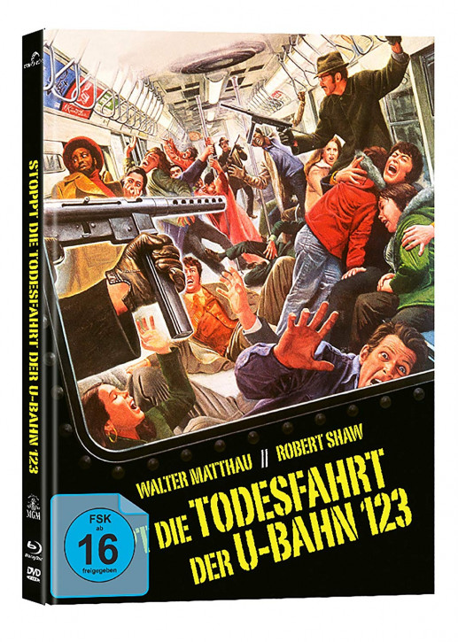 Stoppt die Todesfahrt der U-Bahn123 - Collectors Edition Mediabook - Cover A [Blu-ray+DVD]