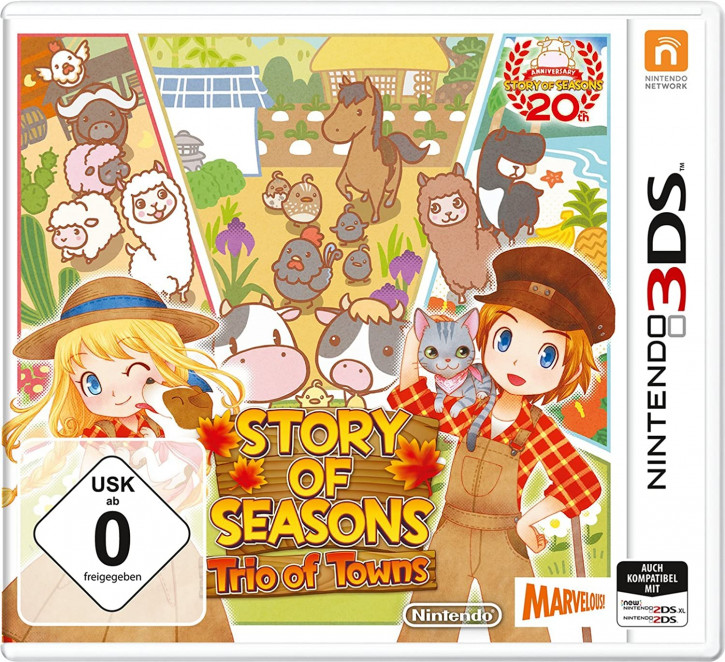 Story of Seasons: Trio of Towns - [N3DS]