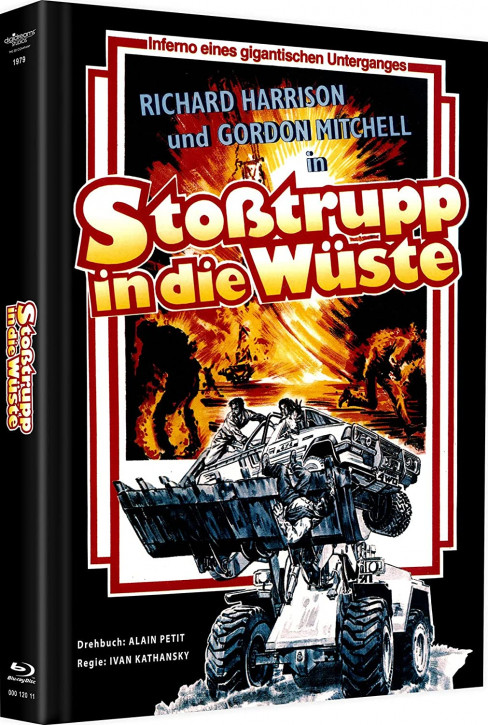 Stoßtruppe in die Wüste - Mediabook [Blu-ray]