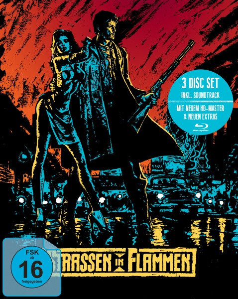 Straßen in Flammen - Limited Mediabook Edition [Blu-ray]