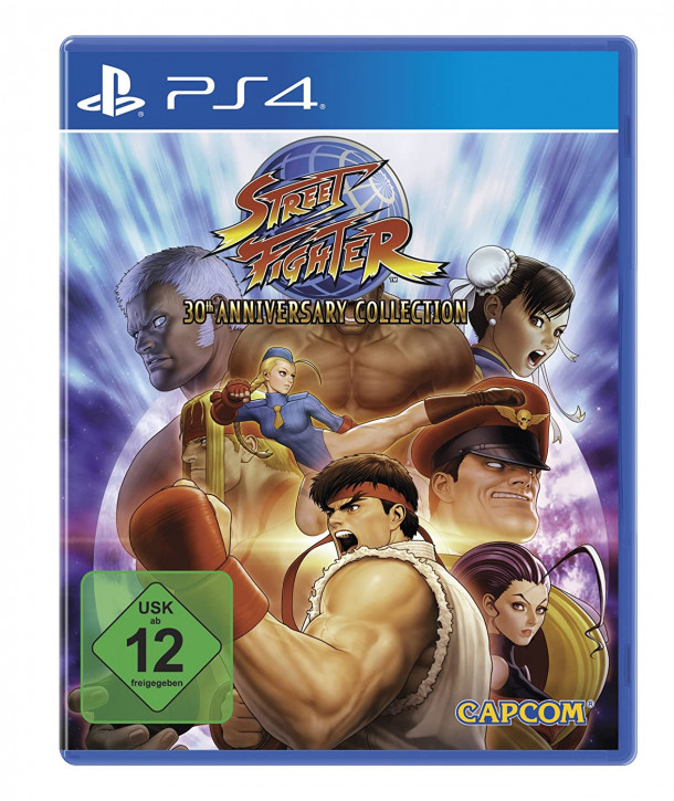 Street Fighter - 30 Anniversary Collection [PS4]