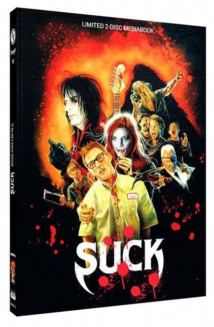 Suck - Bis(s) zum Erfolg - Limited Mediabook Edition - Cover A [Blu-ray+DVD]