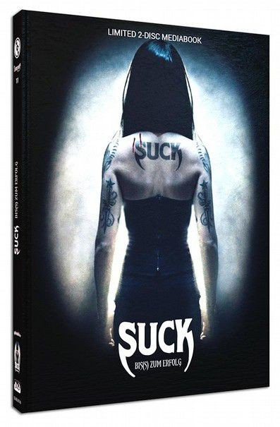 Suck - Bis(s) zum Erfolg - Limited Mediabook Edition - Cover B [Blu-ray+DVD]