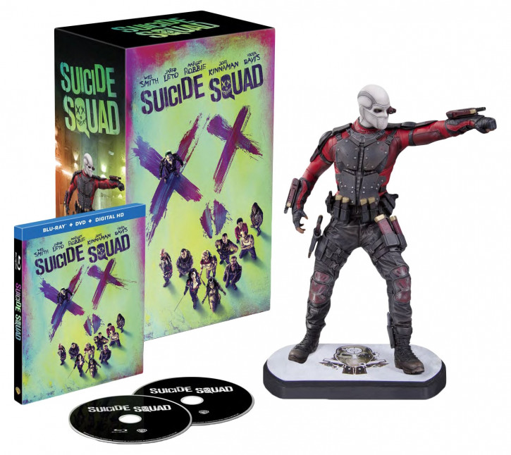 Suicide Squad inkl. Digibook & Deadshot Figur inkl. Blu-ray Extended Cut [3D Blu-ray]