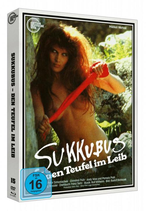 Sukkubus - den Teufel im Leib - Edition Deutsche Vita # 15 - Cover A [Blu-ray+DVD]