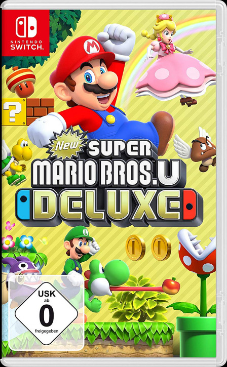 New Super Mario Bros. U Deluxe [Nintendo Switch]