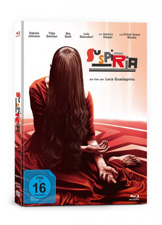 Suspiria - Limited Mediabook Edition - Cover B [Blu-ray+DVD]