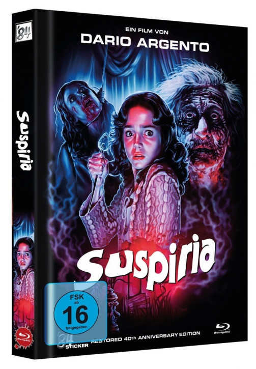 Suspiria - Restored 40th Anniversary Edition - Cover G [Blu-ray]