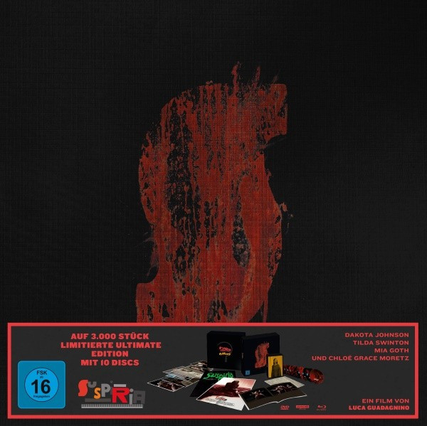 Suspiria - Ultimate Edition [4K UHD+Blu-ray+DVD]