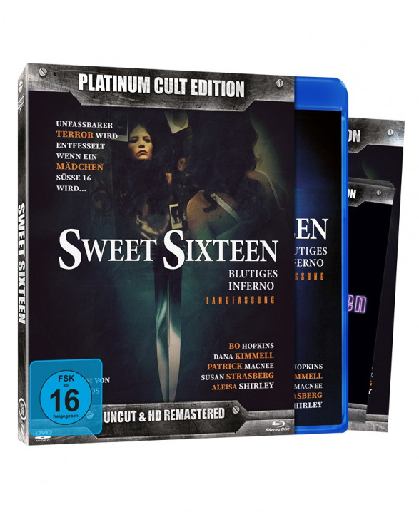 Sweet Sixteen (Platinum-Cult-Edition) [Blu-ray+DVD]