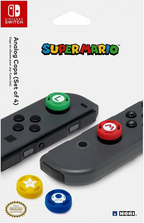 HORI Nintendo Switch Super Mario Caps [Nintendo Switch]