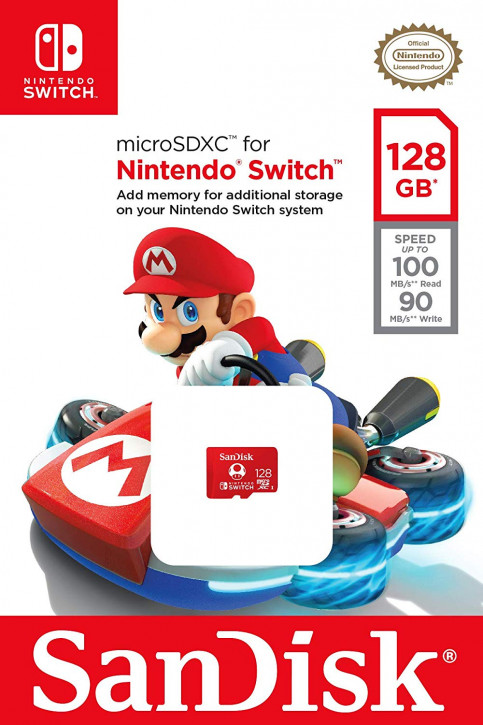 SanDisk microSDXC 128 GB [Nintendo Switch]