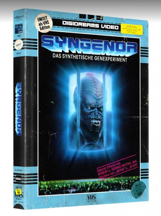 Syngenor - Limited Mediabook VHS Edition [Blu-ray+DVD]