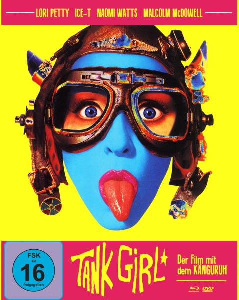 Tank Girl - Limited Mediabook Edition - Cover A [Blu-ray+DVD]