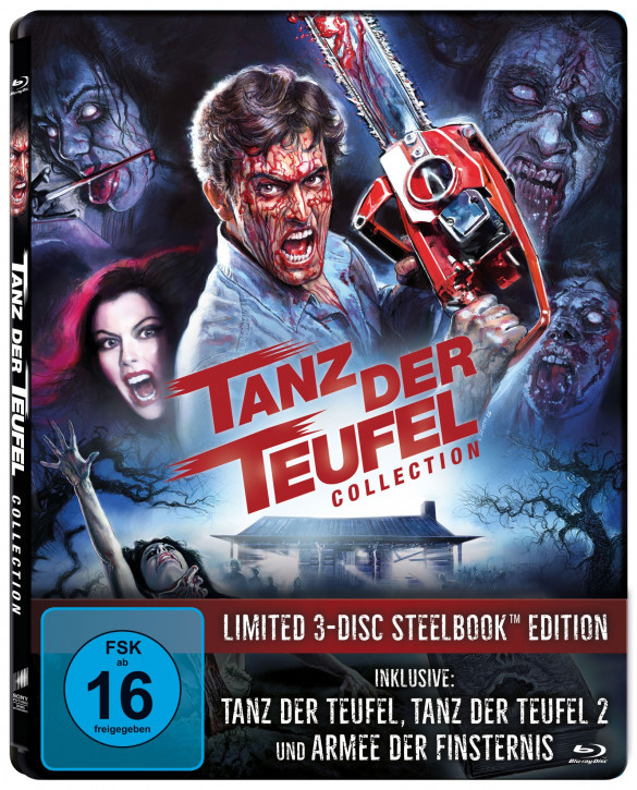 Tanz der Teufel - Limited SteelBook Edition [Blu-ray]