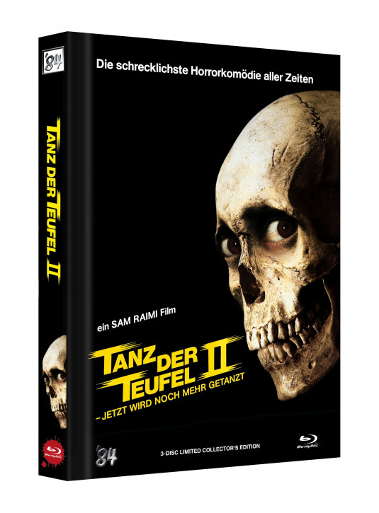 Tanz der Teufel II - Limited Collectors Edition - Cover B [UHD+Blu-ray]