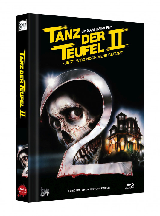 Tanz der Teufel II - Limited Collectors Edition - Cover C [UHD+Blu-ray]