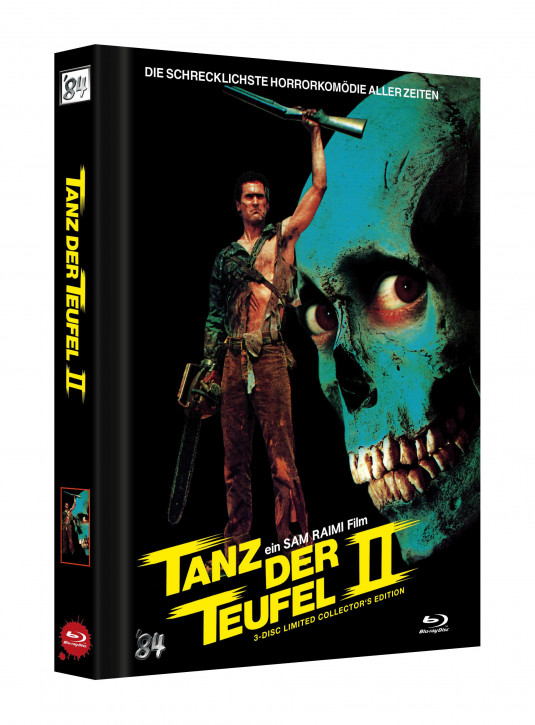 Tanz der Teufel II - Limited Collectors Edition - Cover D [UHD+Blu-ray]