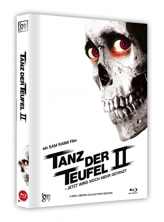 Tanz der Teufel II - Limited Collectors Edition - Cover E [UHD+Blu-ray]