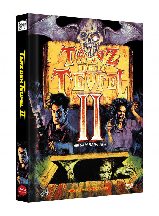 Tanz der Teufel II - Limited Collectors Edition - Cover F [UHD+Blu-ray]