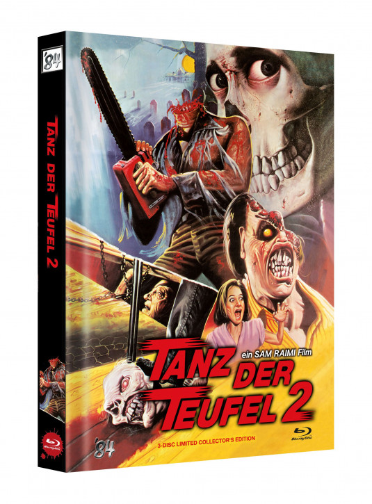 Tanz der Teufel II - Limited Collectors Edition - Cover G [UHD+Blu-ray]