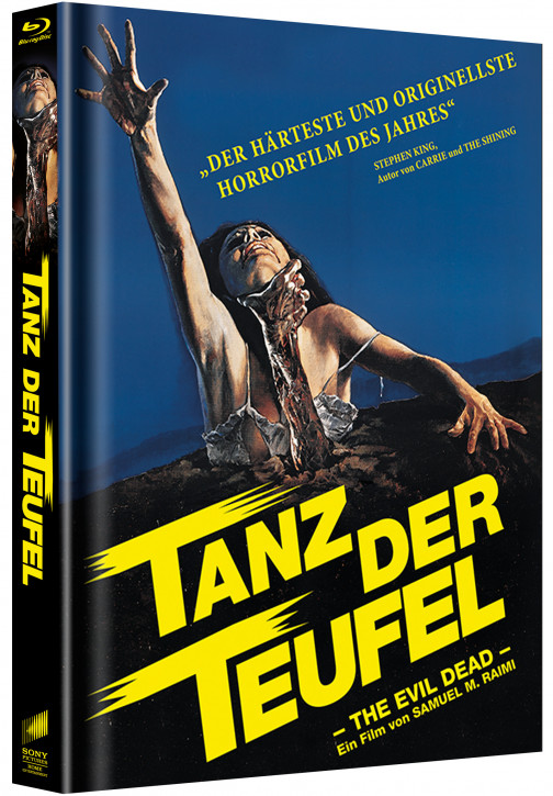 Tanz der Teufel - Limited Mediabook Edition - Cover C [Blu-ray]