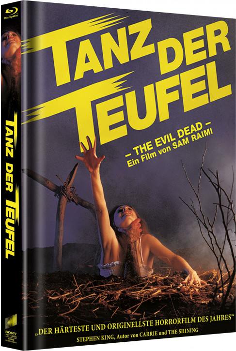 Tanz der Teufel - Limited Mediabook Edition - Cover A [Blu-ray]