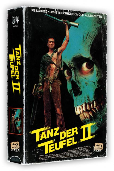 Tanz der Teufel II - Retro Edition im VHS-Look - Cover A [4K UHD BLu-ray+Blu-ray]