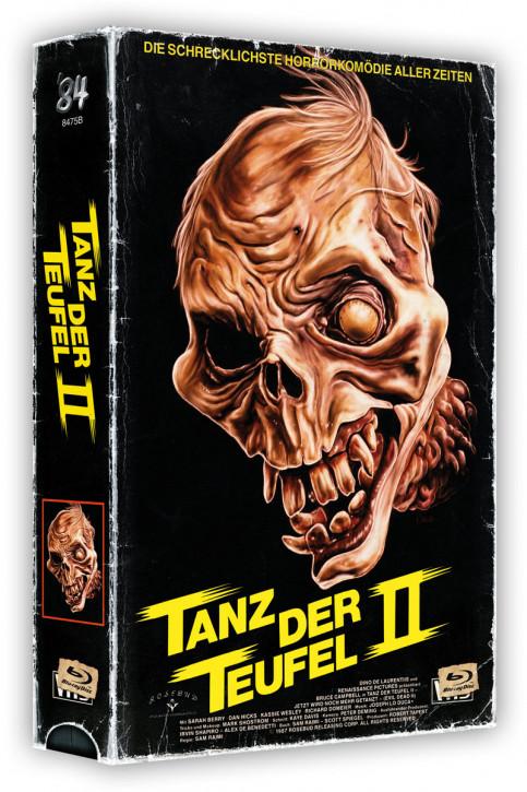 Tanz der Teufel II - Retro Edition im VHS-Look - Cover B [4K UHD BLu-ray+Blu-ray]