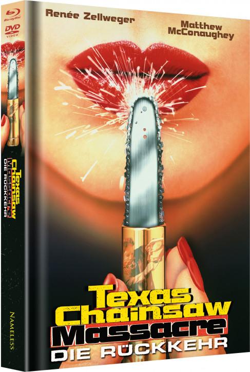 Texas Chainsaw Massacre – Die Rückkehr - Limited Mediabook Edition - Cover B [Blu-ray+DVD]