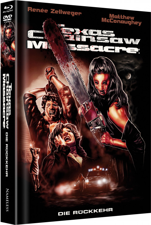 Texas Chainsaw Massacre – Die Rückkehr - Limited Mediabook Edition - Cover C [Blu-ray+DVD]