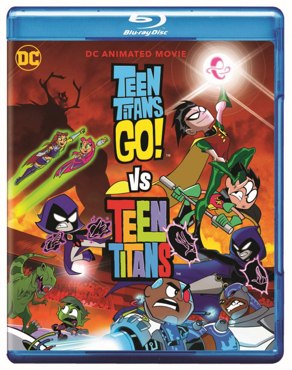 Teen Titans Go! vs Teen Titans [Blu-ray]