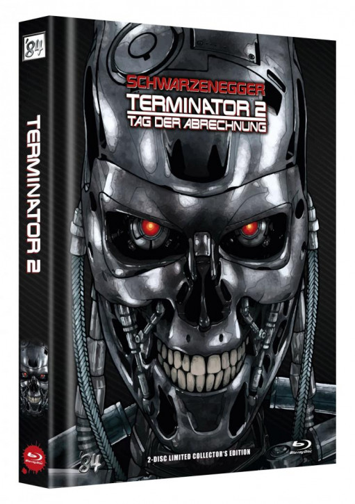 Terminator 2 - Tag der Abrechnung - Limited Collector's Edition - Cover C [Blu-ray]