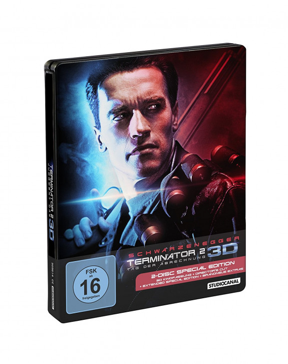 Terminator 2 - Steelbook [3D Blu-ray]