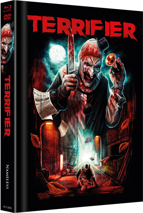 Terrifier - Limited Mediabook Edition - Cover C [Blu-ray+DVD]