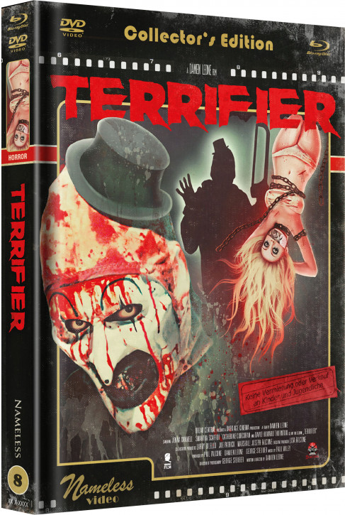 Terrifier - Limited Mediabook Edition - Cover D [Blu-ray+DVD]