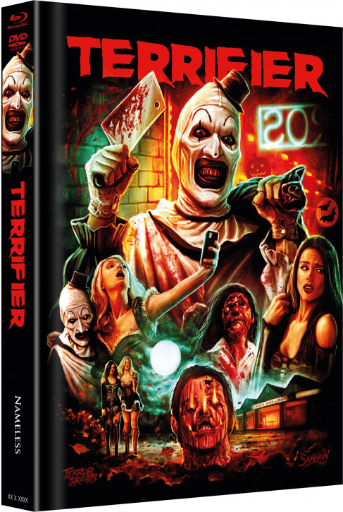 Terrifier - Limited Mediabook Edition - Cover E [Blu-ray+DVD]