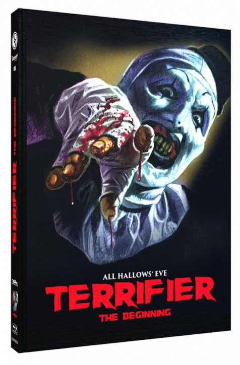 Terrifier - The Beginning - Limited Mediabook Edition - Cover D [Blu-ray]